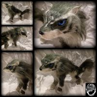 Wolf Link Art Doll - Commission by SonsationalCreations