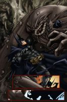 Batman vs Clayface by RodVill