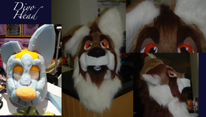 Diyo Fursuit Head~ by Saixpuppy222