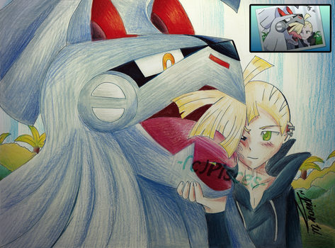 S/M Gladion and Silvally by PiscestheWeird