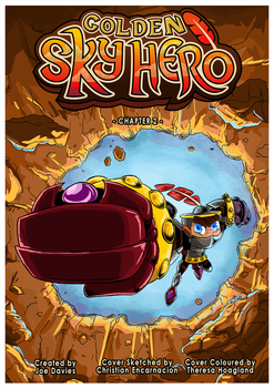 Golden Sky Hero ~ Chapter 2 Cover by The-Quill-Warrior