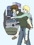 Piggyback by kassie