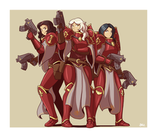 Order of Solar Vigil 3 - Emperor's Angels by Blazbaros