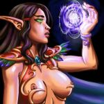 WOW elf color by Pablocomics