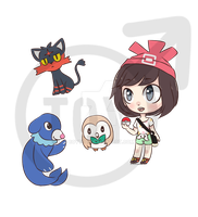 pokemon sun and moon! by 6oytoy