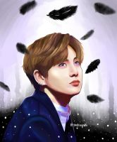 Jungkook Wings ver. by taekuyaki