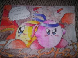 Keeby and Kirby: Warriors Side by Side by Galaxia34