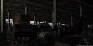Abandoned factory by nergal83