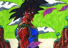 Bardock Sees The Future by ChahlesXavier
