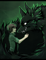 The Green-eyed Monster by Loki-Wings