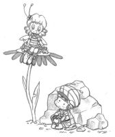 Of Bees and Pillbugs by Momogirl