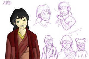 Pema doodles by Zugoldragon