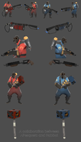 Team Fortress 2 Pyro Pack by Habboi
