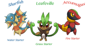 Starters by Hyshirey