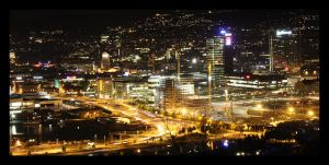 Oslo by night by killerinstinct