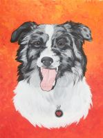 Pet Portrait: Tigger by VeronicaRosejones