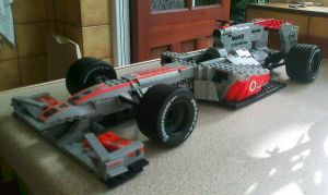 Lego McLaren MP4 25 not finish by Galbatore