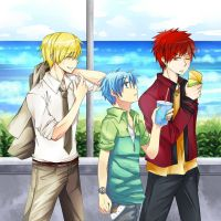 KNB_collabu with Miro~ by Feruru
