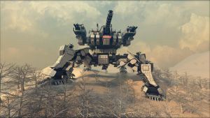 Spartan (mobile fortress) R2 by Avitus12