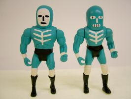 Wrestling Action Figures 3 by Teagle
