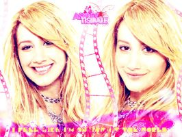 Ashley Tisdale is on the Top of the World by MayteKr