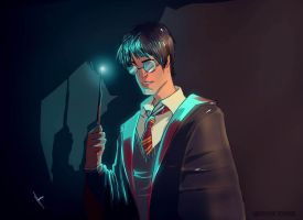 Harry potter fanart by yinfaowei