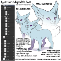 Lynx Lines by Sharky [FREE TO USE] by albinosharky