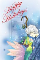 Mistletoe in the Snow by blonde-kitten-otaku