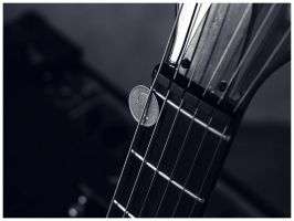 Sixpence Guitar Pick by Fox82