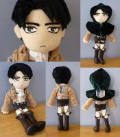 Levi Plush by Nikicus