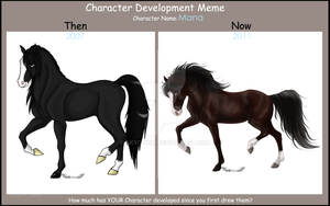 Character Development Meme by Opium5