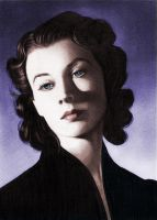 Vivien Leigh II in colour by molibali