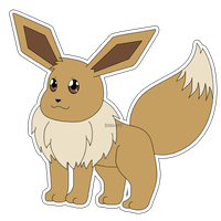 Eeveelution: Eevee by izka-197