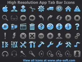 High Resolution App Tab Ba... by shockvideoee