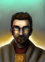 Gordon Freeman by stormkeeper