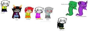 Homestuck/Siouxstuck Me Sprites by Apocalyptic-Nuisance