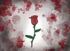 The Rose, and Love Lost by beautifulshininghope