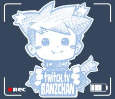 Now Streaming On Twitch by Banzchan