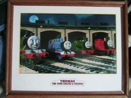 My rare Thomas Tank Photograph by cruiseshipz