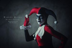 Harley Quinn - Wanna play? by Enasni-V
