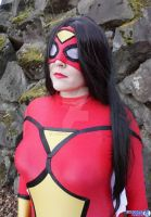 Spider Woman by abisue