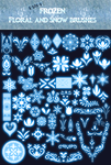 Disney Frozen Brushes2 by Sakuyamon
