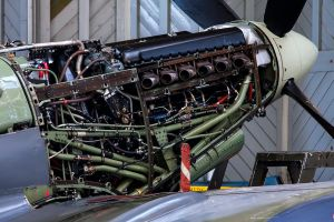 Rolls Royce Merlin 66 by Daniel-Wales-Images