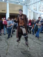 Steampunk Stilts by Lillagon