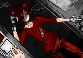 Five Nights at Freddy's : Foxy - Think Fast Hahaha by AllenCRIST