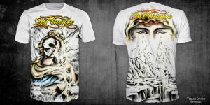 MMA T - Shirt Design : Apolo