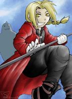 Edward Elric brings pain by sw
