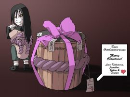 Naruto: Orochimaru Christmas by Risachantag