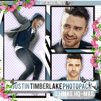 +Photopack png de Justin Timberlake. by MarEditions1