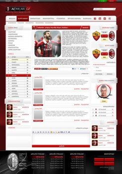 Acmilan.ge Template 2 by ZincH21